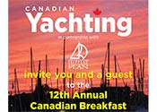 Canadian Yachting Annapolis Breakfast
