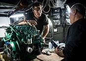 Refitting Volvo Ocean 65