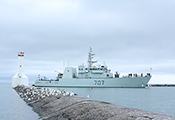 Canadian Navy ship HMCS Goosebay