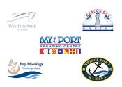 5 Ontario Marina logos