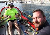 Colin Sanders and Leven Brown in Puerto De Mogan