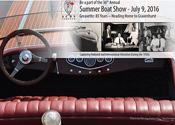 Vintage boat show