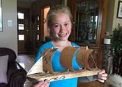 Tiny Wooden Boat