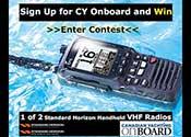 Win a VHF Radio