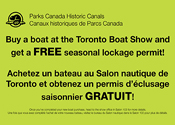 Parks Canada Free Pass