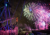 RWF Tall Ship Fireworks
