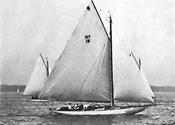 Blue Moon Under Sail
