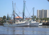 Shrimp Boats in Daytona Beach