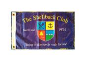 The Shellbacks Club Flag