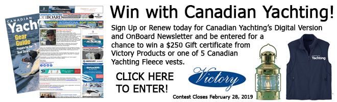 Boat Show contest ad