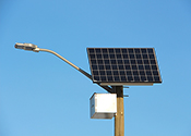 Solar Panelled Street Light