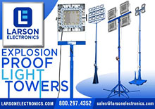 Larson Electronics' Explosion Proof Light Towers