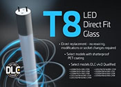 Eiko LED T8 Direct Fit Replacement Bulbs