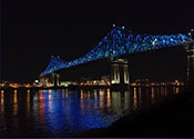 Montreal's Jacques-Cartier Bridge