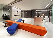 L'éclairage de Pavilion Corporation financière