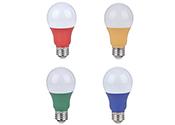 Les lampes à DEL de couleur de Standard