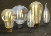 Lampe à filaments