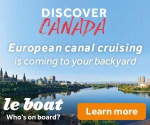 Le Boat Rideau Canal Contest